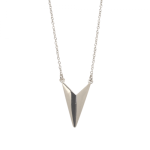 """Trinity"" Shuttle - Necklace - Silver"