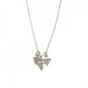 TRINITY   3Arrow - Necklace - Silver