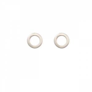 """Spot Classic"" Saturn - Stud Earring - Silver"