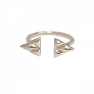 """Opalia"" Shield - Ring - Silver"