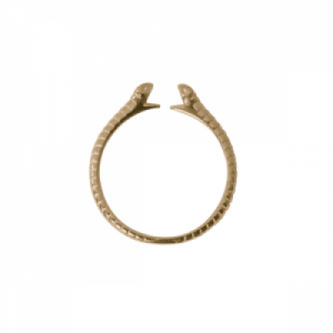 """Garden Eden"" Snake - Ring - Gold"