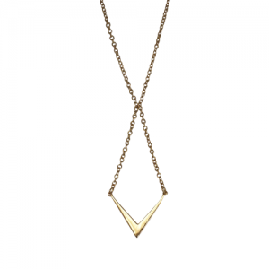"""Opalia"" Arrow - Necklace - Gold"