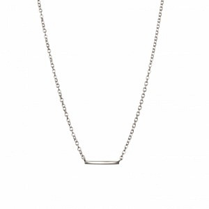 STRIPES&JOIST | Bar - Necklace - Silver