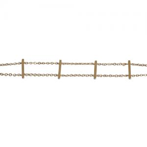 STRIPES&JOIST | Bar Row - Bracelet - Gold