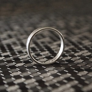 """Stripes & Joist"" Bar - Ring - Silver"