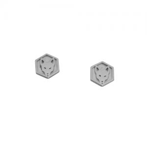 CITYFOX | Signet - Stud Earring - Silver