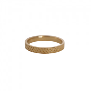 """Trinity"" Pattern - Ring - Gold"