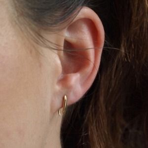 """Smilodon"" Thorn Short - Earring - Gold"