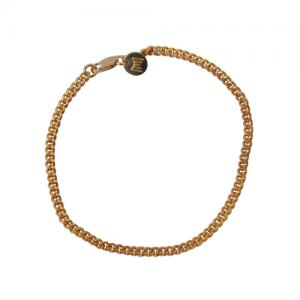 """Curb"" Classic - Bracelet - Gold"