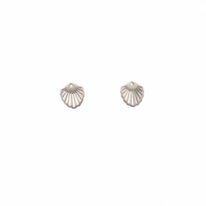 HUMMINGBIRD SHELL   Classic Small - Stud Earring - Silver