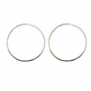 ATMOS   Polar Makro - Stud Earring - Silver