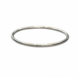 CURVACEOUS | Classic (4) - Bangle - Silver