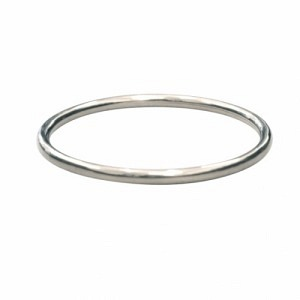 CURVACEOUS   Classic (5) - Bangle - Silver