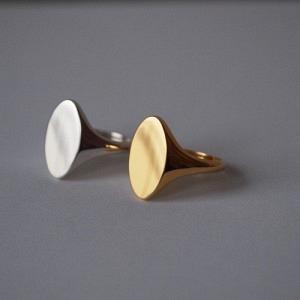 SOPHIE   Signet - Ring - Gold