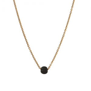 """Panthera"" Notch Onyx - Necklace - Gold"