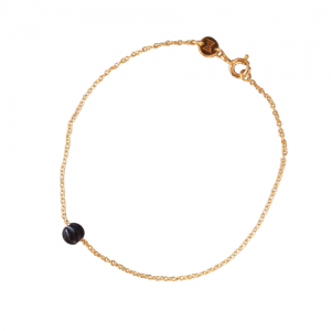 """Panthera"" Notch Onyx - Bracelet - Gold"