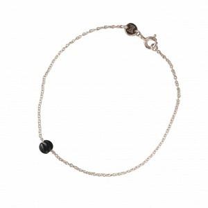 """""""Panthera"""" Notch Onyx - Bracelet - Silver"""