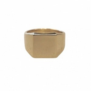CLEOMETRA | Fundamental Signet - Ring - Gold