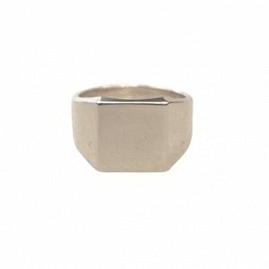"""Cleometra"" Fundamental Signet - Ring - Silver"