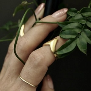 """Smilodon"" Claw - Ring - Gold"