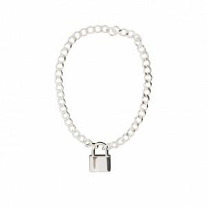 CURB | Lock Fellow - Bracelet - Silver