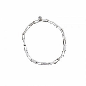CLEOMETRA   Rectangle Big - Bracelet - Silver