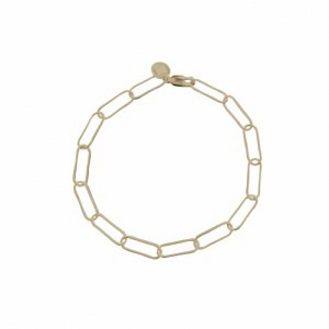 ELONGATED | Paperclip Light - Bracelet - Gold