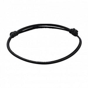 PANTHERA | Black Leather - Bracelet