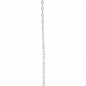 FUNDAMENTAL CHAINS | Long Cable 1.1 - 50cm Necklace - Silver