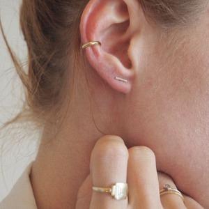 SMILODON | Claw - Ear Cuff - Gold