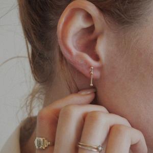 UN-DEUX-TROIS | Dot 3 Constellation - Stud Earring - Gold