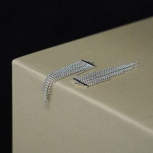 UN-DEUX-TROIS   Tassel - Earring Accessoires - Silver