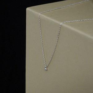 UN-DEUX-TROIS | Dot 1 - Collier - Silver