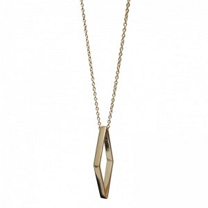 OPALIA | Rhombus Bar - Necklace - Gold