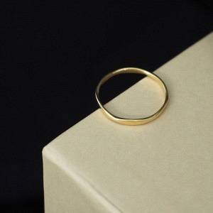 SOPHIE | Dent - Ring - Gold