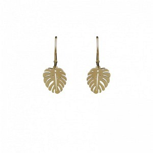 PANTHERA | Monstera Leaf - Oval Creole - Gold