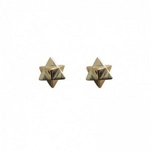 ONEIRO | Stella Octangula - Stud Earring - Gold