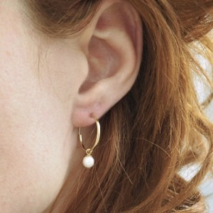 SOPHIE | Nature Pearl 12 - Creole - Gold