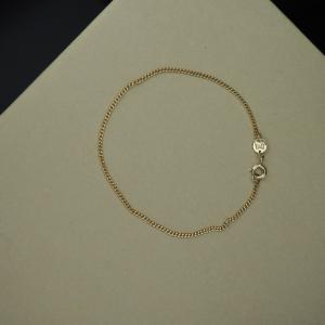 CURB | Classic Slim - Bracelet - Gold