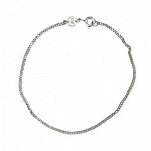 CURB | Classic Slim - Bracelet - Silver