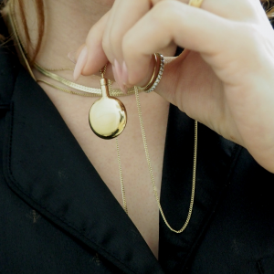 PAILLETTE | Fragrance Locket - Collier - Gold