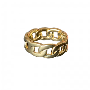 CURB | Classic Wide - Ring - Gold