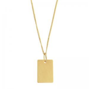 CLEOMETRA | Rectangle - Pendant - 18 Karat Gold