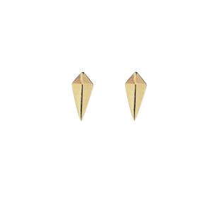 OPALIA | Shield - Stud Earring - Gold