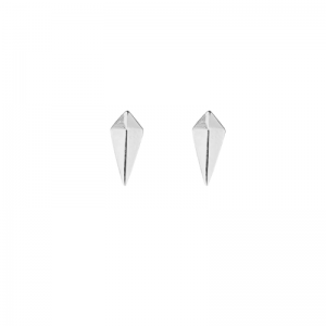 OPALIA | Shield - Stud Earring - Silver