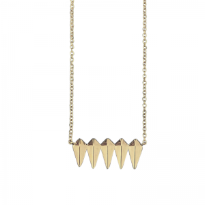 OPALIA | Shield Row - Necklace - Gold