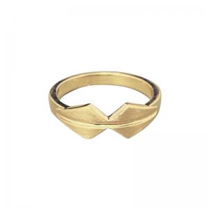 OPALIA | Shield Bow - Ring - Gold