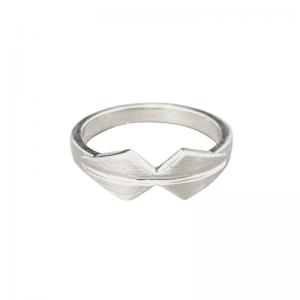 OPALIA | Shield Bow - Ring - Silver