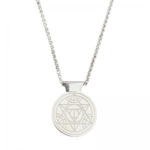 CLEOMETRA | Pyramid Eye - Necklace - Silver