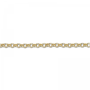 FUNDAMENTAL CHAINS | Rolo 1.5 - 45cm Necklace - Gold